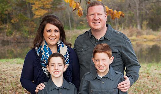 John & Martine Smithwick with Family
